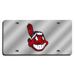 Cleveland Indians MLB Laser Cut License Plate Cover