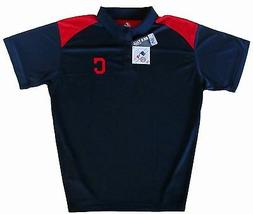Cleveland Indians MLB Majestic Men's Victory Polo Shirt Big