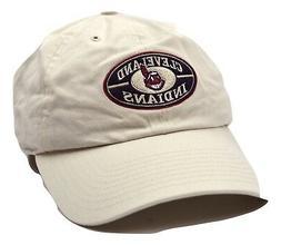 Cleveland Indians American Needle MLB Oval Logo Adjustable B