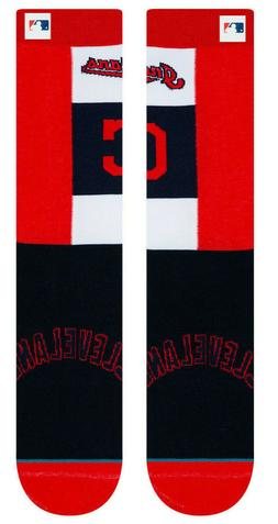 Cleveland Indians Stance MLB Pop Fly Diamond Collection Sock