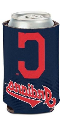 Cleveland Indians MLB Stadium Can Cooler Holder Bottle Neopr