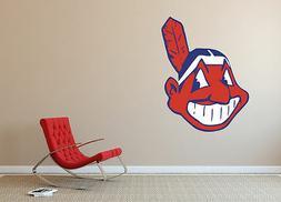 Cleveland Indians MLB Team Logo Vinyl Decal Sticker Wall Dec