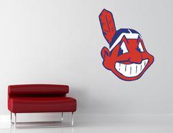 Cleveland Indians MLB Wall Decal Vinyl Sticker Decor Basebal