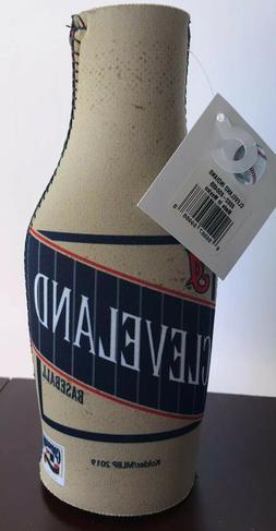 cleveland indians neoprene bottle holder koozie cooler
