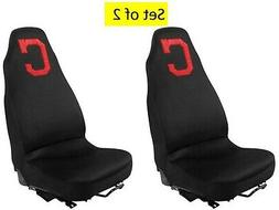 Cleveland Indians Pair of Premium Embroidered Auto Seat Cove