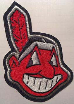 Cleveland Indians patch Chief Wahoo jersey sleeve patch  MLB