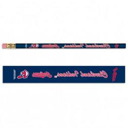 Cleveland Indians Pencils 6 Pack MLB Licensed
