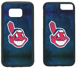 CLEVELAND INDIANS PHONE CASE COVER FITS iPHONE 7 8+ XS MAX S