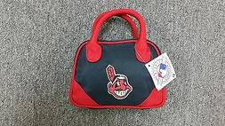 Cleveland Indians Purse Mini Bowler Style Charm 14 Handbag G