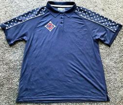 "Cleveland Indians ""Stars & Stripes"" True Fan Men's Polo"