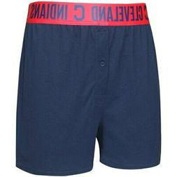 Cleveland Indians Concepts Sport Title Boxer Shorts - Navy