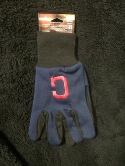Cleveland Indians Utility Gloves Tufted OSFA  NEW MLB Baseba