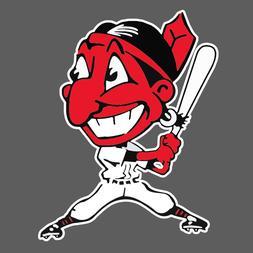 Cleveland Indians Vintage Logo 1946-1947 Sticker Vinyl Vehic