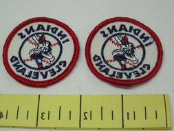 Cleveland Indians Vintage Patches 1970's Cloth 2 Inch New Ol