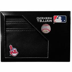 Cleveland Indians Weekend Wallet MLB Licensed Baseball