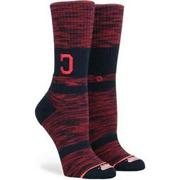 Stance Cleveland Indians Women's Classic Crew Socks