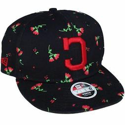 Cleveland Indians Women's Hat Blossom 9FIFTY Adjustable Snap