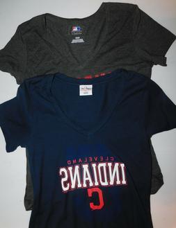 MLB Genuine Merchandise  Cleveland Indians Women's Medium  V