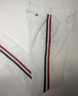 CLEVELAND INDIANS YOUTH CHARLIE SHEEN WHITE MAJESTIC PRO BAS