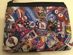 Cleveland Indians zipper wallet