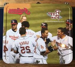Collectible Cleveland Indians SGA Metal Lunchbox Slider Pizz