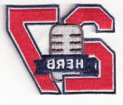 Herb Score Memorial Cleveland Indians Number 27 Jersey Sleev