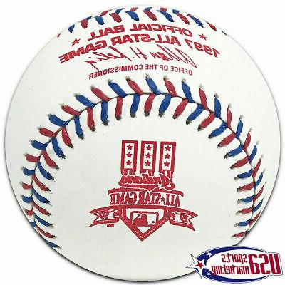 1997 mlb all star official game baseball