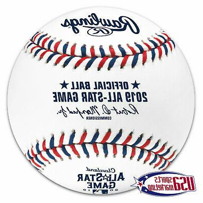 2019 all star official game baseball cleveland