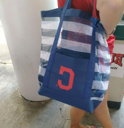2019 cleveland indians beach bag tote promo