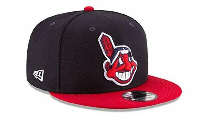cleveland indians 9fifty navy red chief wahoo