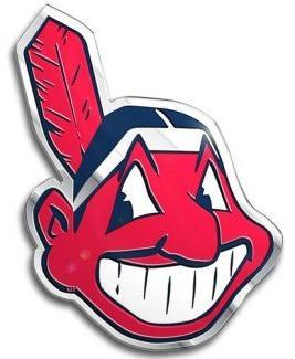 Cleveland Indians Color Auto Emblem - Die Cut