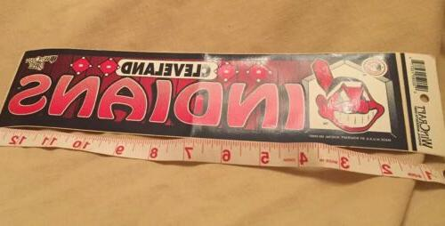 Cleveland Indians Sticker Pre Owned Not