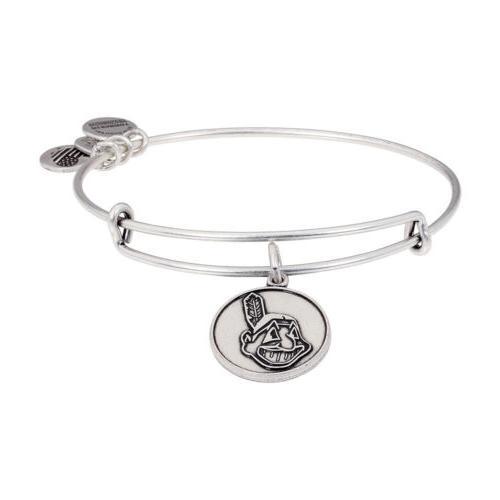 cleveland indians cap logo charm rafaelian silver