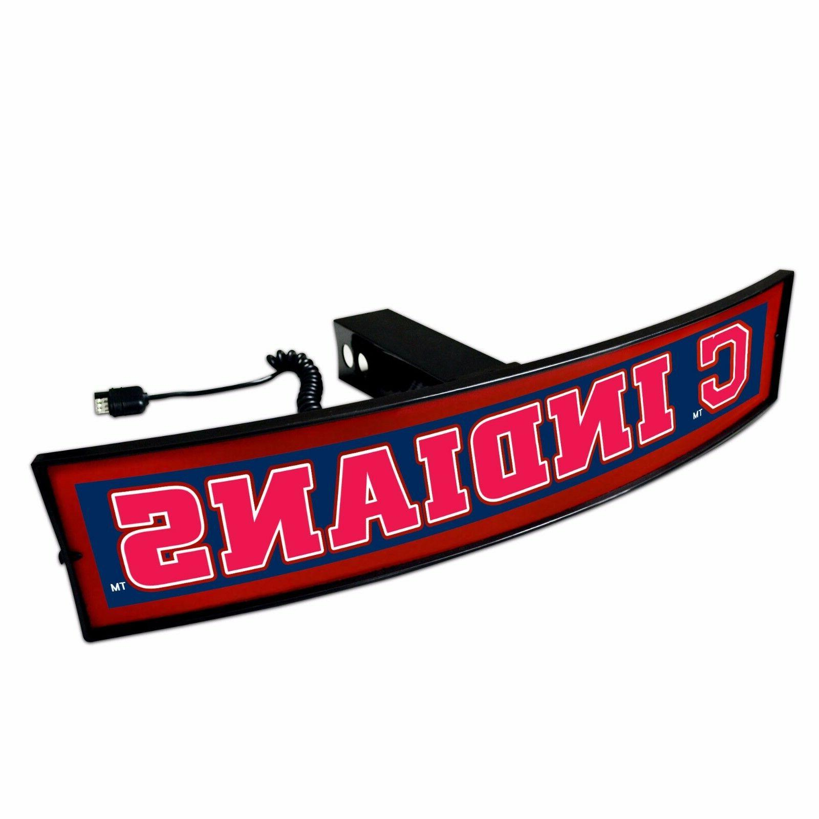 cleveland indians light up hitch cover led