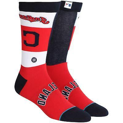 cleveland indians pop fly crew socks