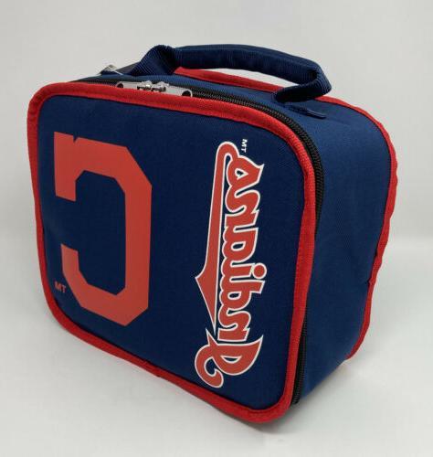 Cleveland Indians Sacked Lunchbox Cooler Divider Sided MLB Bag
