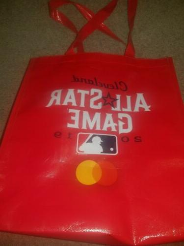 cleveland indians sga all star tote bag