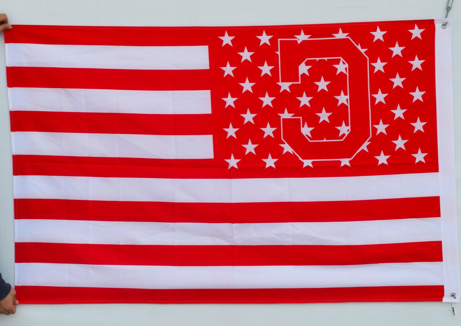 cleveland indians stars and stripes 3x5ft banner