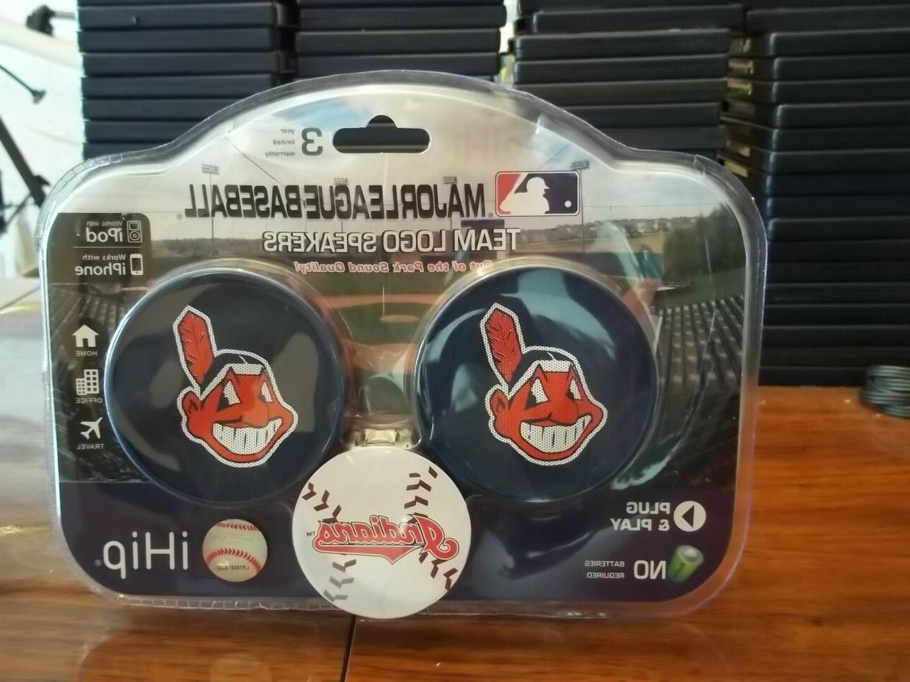 cleveland indians team logo speakers mip by