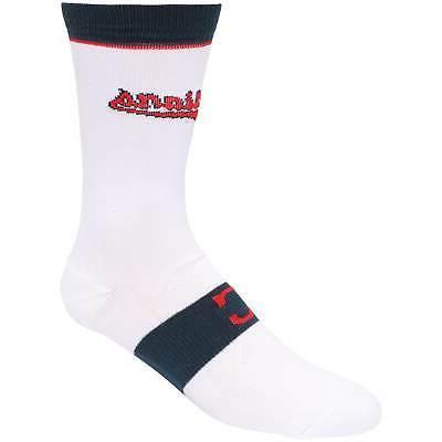 cleveland indians uniform crew socks white