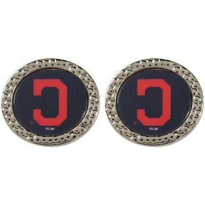 cleveland indians women s round post earrings