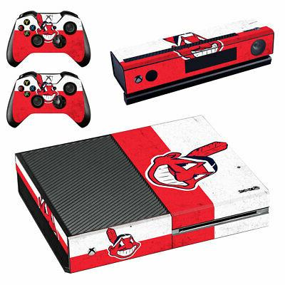 Cleveland Indians XBOX ONE Skin Sticker Decal Vinyl Console