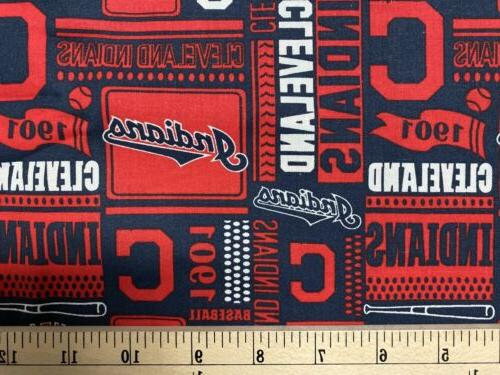 MLB baseball Cotton Fabric