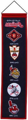 MLB Cleveland Indians Heritage Banner