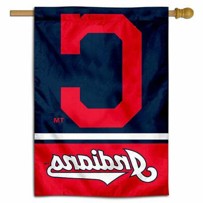 mlb cleveland indians house flag and banner