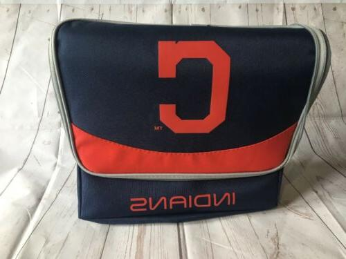mlb cleveland indians insulated soft cooler
