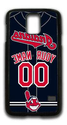 MLB Cleveland Indians Personalized Name/Number Samsung Phone