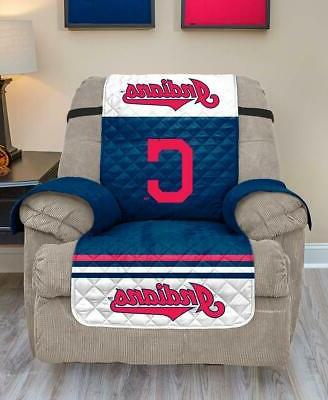 mlb cleveland indians reversible armchair recliner furniture