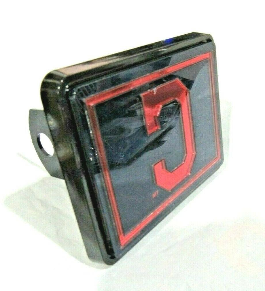 mlb cleveland indians trailer hitch cap cover