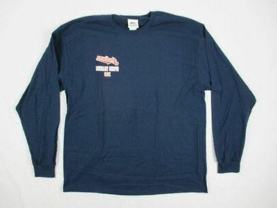 new cleveland indians blue cotton long sleeve